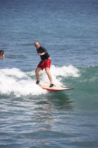 Everybody's gone surfin'…